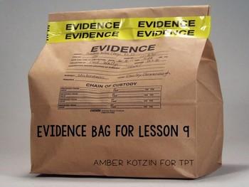 Kamishibai Man: Virtual Evidence Bag Journeys 3rd Grade Lesson 9