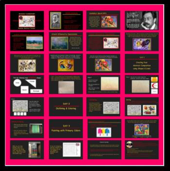 Kandinsky Abstract Painting PowerPoint