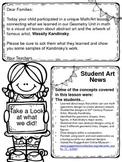 Kandinsky Art-Math Parent Letter