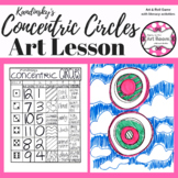 Art Lesson: Kandinsky Circles Art Game | Art Sub Plans