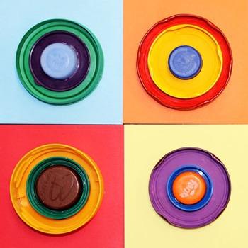 Kandinsky Circles craft