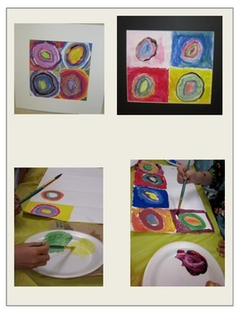 Kandinsky & Color Mixing LESSON PLAN