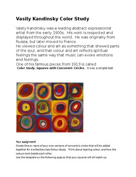 Kandinsky Colour Study