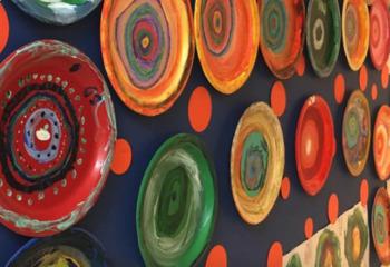 Kandinsky Grid Color Theory Art History Project