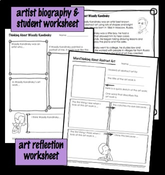 Art Lesson - Kandinsky-Inspired Abstract Art - Geometry Integrated