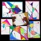 Art Lesson Kandinsky Inspired Abstract Art Geometry Integrated