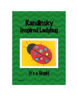 Kandinsky Inspired Ladybug Glyph