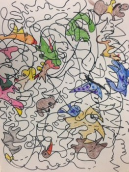 Kandinsky Musical Lines