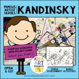 Kandinsky Project-Based Art Unit for Famous Artist Series
