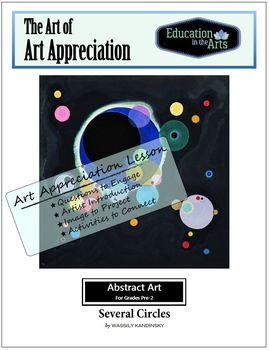 Kandinsky Several Circles Abstract Art
