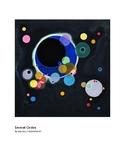 Kandinsky Several Circles Abstract Art grades 1-2