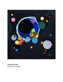Kandinsky Several Circles Abstract Art grades 1-2