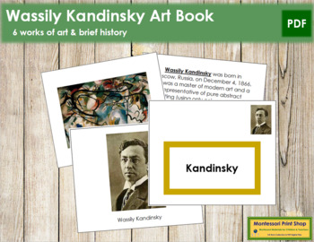 Kandinsky (Wassily) Art Book - Color Border
