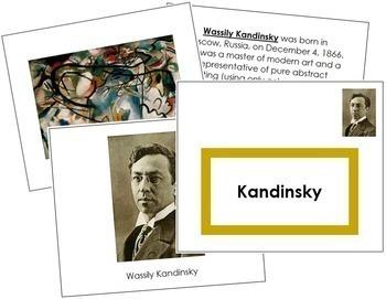 Kandinsky (Wassily) Art Book - Color Border