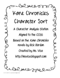 Kane Chronicles Character Sort