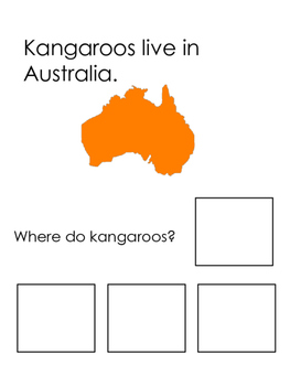 Kangaroo Adapted book