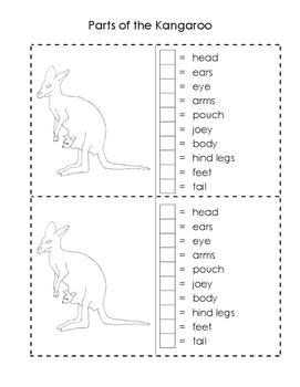 Kangaroo Booklet