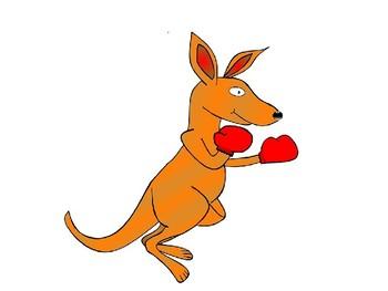 Kangaroo Clip Art and Templates