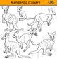 Kangaroo Clipart - Realistic