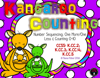 Kangaroo Counting Count the Room Counting 0-10, Sequencing