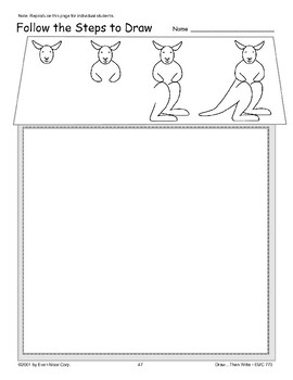 Kangaroo (Draw Then Write)