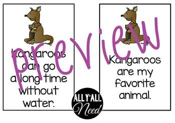Kangaroo: Fact and Opinion