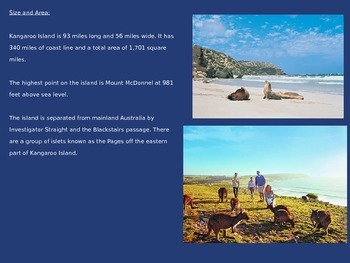 Kangaroo Island - Power Point - Information Pictures Facts History