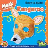 Kangaroo Mask | Printable Craft Activity