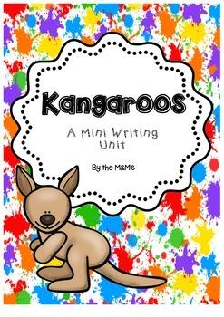 Kangaroo Mini Writing Unit