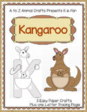 "Kangaroo and Letter ""K"" Crafts"