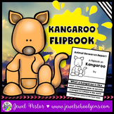 Australian Animals Activities (Kangaroo Research Flipbook)