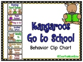 Kangaroos Go to School | Behavior Clip Chart
