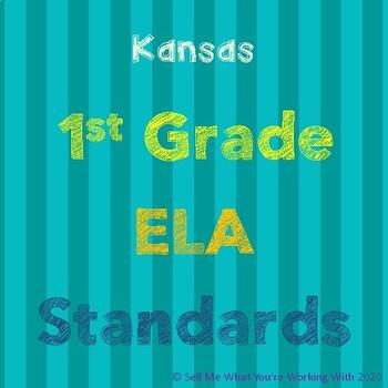 Kansas 1st Grade ELA Standards