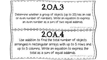 Kansas 2nd Grade Math Standards