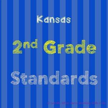 Kansas 2nd Grade Standards BUNDLE