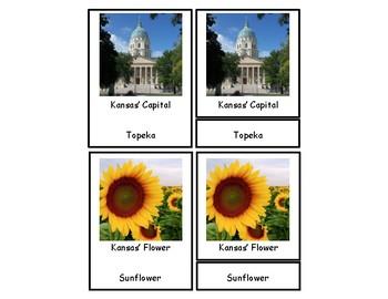 Kansas 3 Part Cards