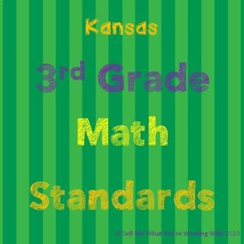 Kansas 3rd Grade Math Standards