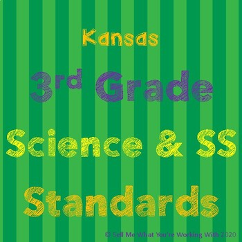 Kansas 3rd Grade Science & Social Studies Standards