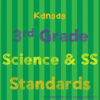 Kansas 3rd Grade Science & Social Studies Standards