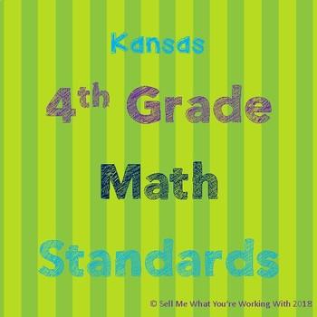 Kansas 4th Grade Math Standards