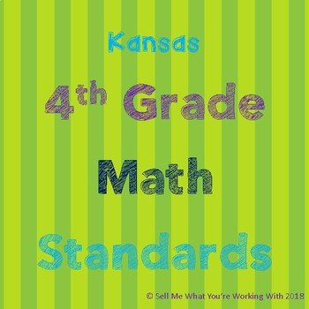 Kansas 4th Grade Math Standards