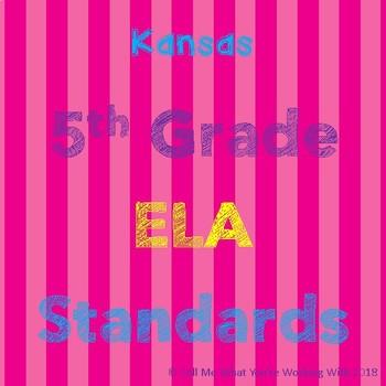 Kansas 5th Grade ELA Standards
