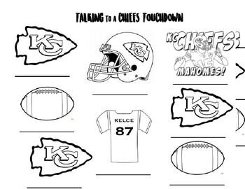 Kansas City Chiefs Speech Articulation By Kylie Devries Tpt