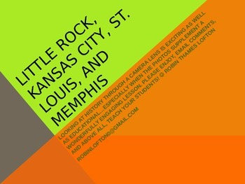 Kansas City, Little Rock, Memphis, and St. Louis TAH Tours and Historical Sites