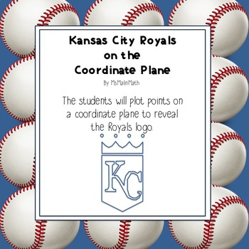 Kansas City Royals Logo on the Coordinate Plane
