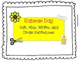 Kansas Day Cut, Glue, Write, and Draw Sentences