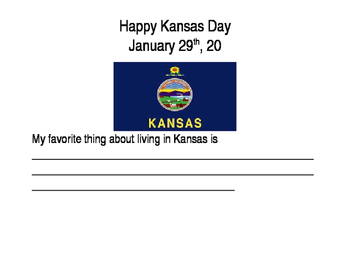 Kansas Day Journal