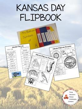 Kansas Day Symbol Flipbook