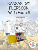 Kansas Day Symbol Flipbook W/ Facts!