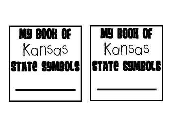 Kansas Day Symbols Paper Bag Booklet